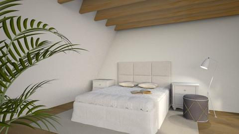 Attic Bedroom - Modern - Bedroom  - by millerfam