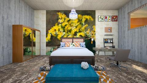Inspired by Georgia - Bedroom - by gefenkl