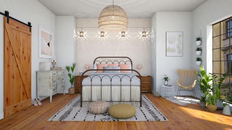 Bohemian bedroom - Bedroom  - by martinabb