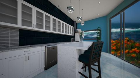 Stormy Seas - Modern - Kitchen  - by decordiva1