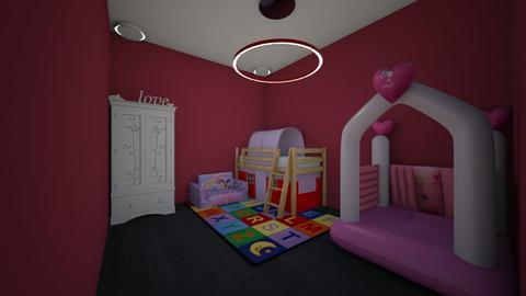 kids bedroom - Feminine - Kids room - by pigsfordays