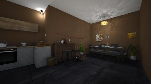 Old age - Kitchen  - by OliverTheWizard