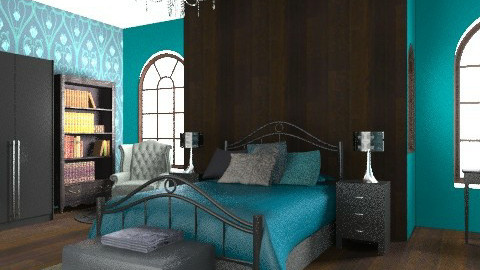 bedroom - Glamour - Bedroom  - by Aliya Al