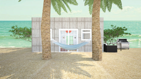 Vacation Beach House - by Rosely