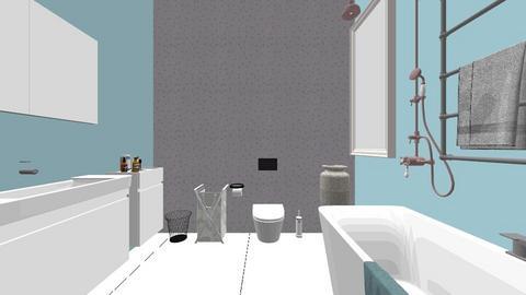 Toilet 1 - Bathroom  - by caryn418