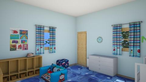 Nate_s Room8 - Kids room - by Robacki