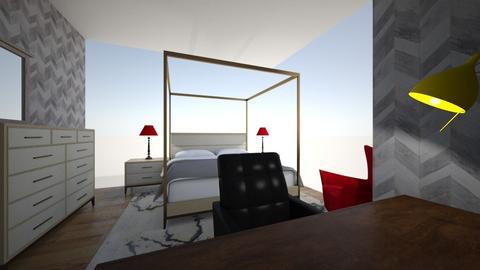 3D bedroom  - Bedroom  - by narinad