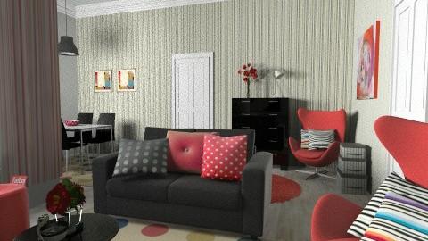 Dotts - Modern - Living room  - by Tuija