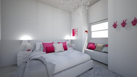 Sadies Dream Room - Modern - Bedroom  - by natalier370