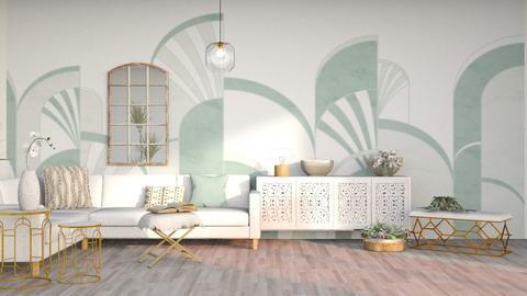 Art Deco Living - by Parakeet