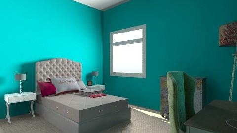 my dream room - Vintage - Bedroom  - by swhiteless