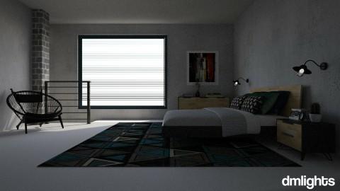 Concrete jungle - Bedroom - by DMLights-user-1514794