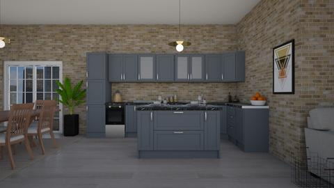 Apartment Style - Kitchen - by cutebaxter123