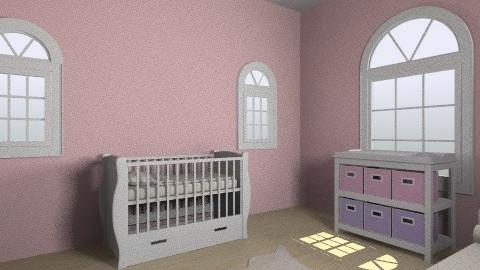 Pink Nursery - Vintage - by Stela2603