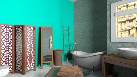 my first bathroom - Eclectic - Bathroom  - by martinabb