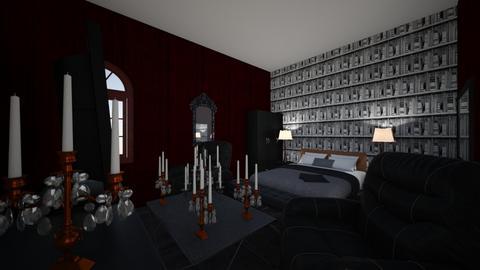 Master Bed  - Vintage - Bedroom  - by cortnie parson