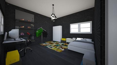 kamar udin - Bedroom  - by dimas nawawi