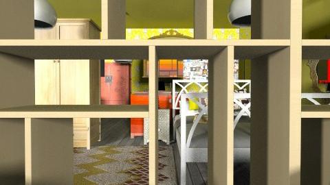 Indie Retro Apartment - Retro - by tillsa98