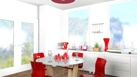 Retro Inspired Kitchen! - Retro - Kitchen  - by cara_98