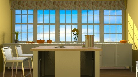 ktchn201011 - Rustic - Kitchen  - by Elena Green