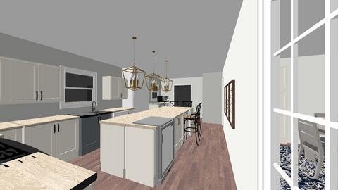 Kitchen A - by sxb5013