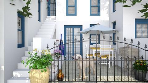 Design 86 Greek Neighborh - Garden - by Galaxy Romaysa