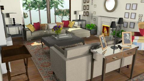 ici phase 5 block b2 - Country - Living room  - by mehar