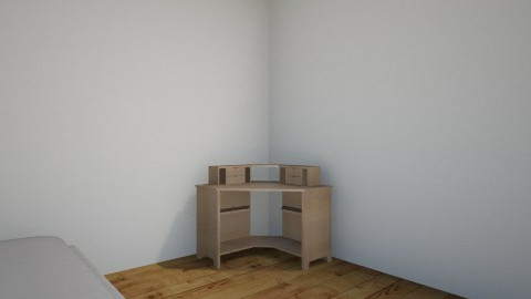 jazlins new room not fini - Retro - Bedroom - by jazlinzik