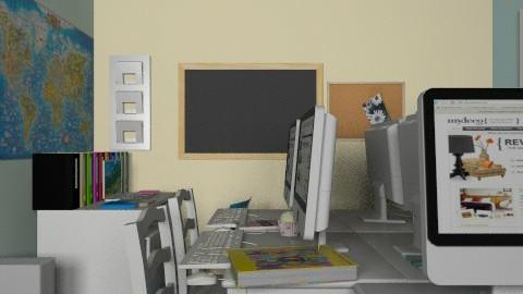 School room/ Tanulószoba - Modern - Kids room  - by Beta Vincze