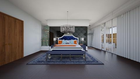 black 2 - Bedroom  - by Keilla