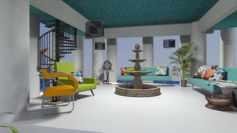 Warm Tropical Garden - Modern - Garden  - by smccauley029
