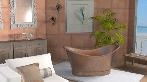 Gold Bubbles - Eclectic - Bathroom  - by channing4