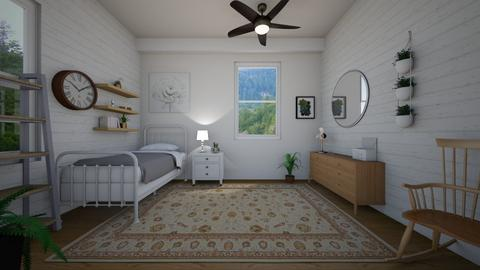 quaint bedroom - Country - Bedroom  - by charlottefolk