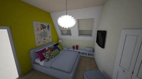 big bed - by bettamarchegiano