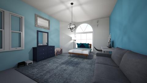 blue kids room - Kids room  - by nicole_reyes