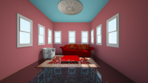 watery dream - Retro - Living room  - by Sabine Keppeler