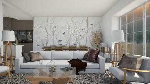 Scandinavian - Living room  - by StienAerts