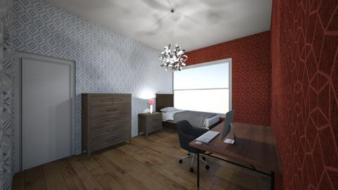 1 person house - Living room - by tompert