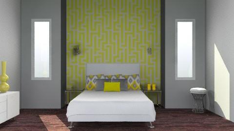mod yellow - Modern - Bedroom - by shotzydog