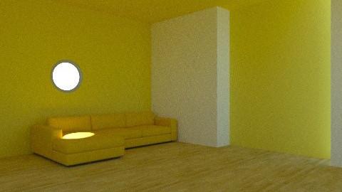yellow galore - Living room - by anniebannanie
