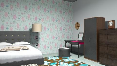 b2c1 - Vintage - Bedroom  - by noorshilla