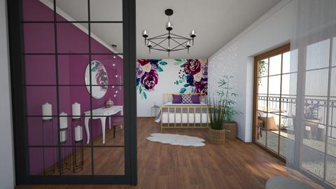 070620 II - Bedroom  - by AleksandraZaworska98