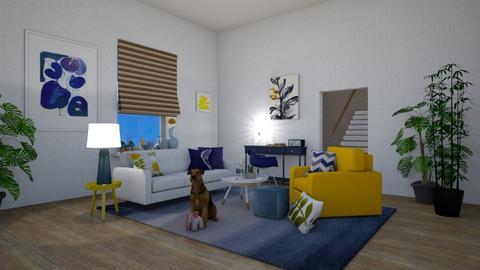 Scandinavian  - Living room  - by lpkinteriordesigns