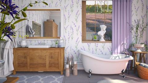 Lavender Bathroom - Bathroom  - by smunro7