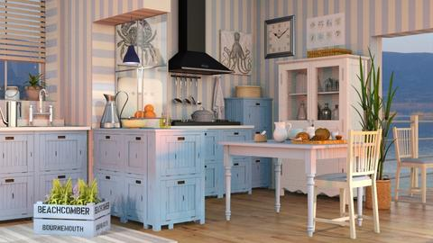 Nautical Kitchen - Vintage - Kitchen  - by Sally Simpson