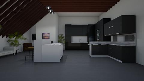 Rustic Kitchen - Kitchen  - by Riordan Simpson