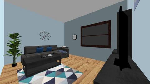 studio - Living room - by juliargiro