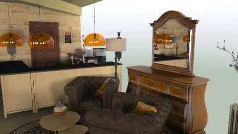 wohnstube_neu_11 - Country - Living room  - by zindy