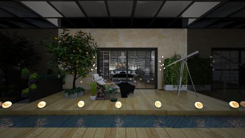 indoor plant room - Garden  - by bluedolphin12