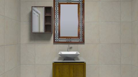 Bodrum Kat Banyo - Modern - Bathroom - by pelin1286